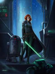 Jedi by ozornin-ART