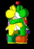 Hug x3 by Jei-ice