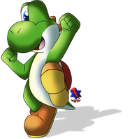 Just a Green Yoshi *Remastered* by Jei-ice