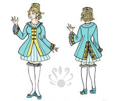 French Court Dress by Pearllight180