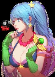 Sona Arcade render by ShinkuNekita