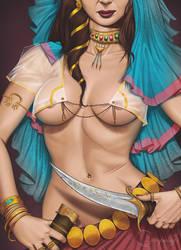 Warrior 2 by Viviengros