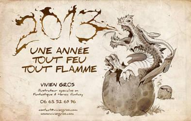 Bonne annee 2013 by Viviengros