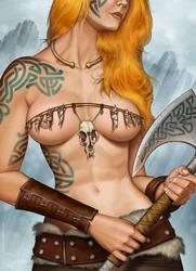 Warrior 5 by Viviengros