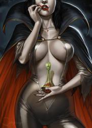 Warrior Vampyre by Viviengros