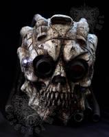 Skull Helmet by SatanaelArt