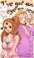 Sanji x Pudding by Opirou
