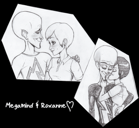 Megamind And Roxanne by Tsukiko88
