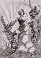 sword heroes by LordMiste