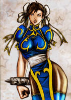 Chun Li color by LordMiste