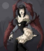 Darkstalkers colored by LordMiste