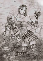 Karkulka Lykan by LordMiste
