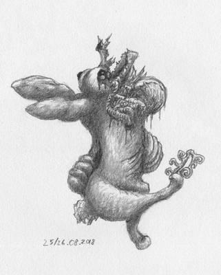 Mutant cancer bunny by HappyGloom