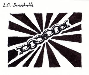 Inktober 2018-20 Breakable by HappyGloom