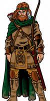 Dragonlance: Tanis Half-Elven by Kostmeyer