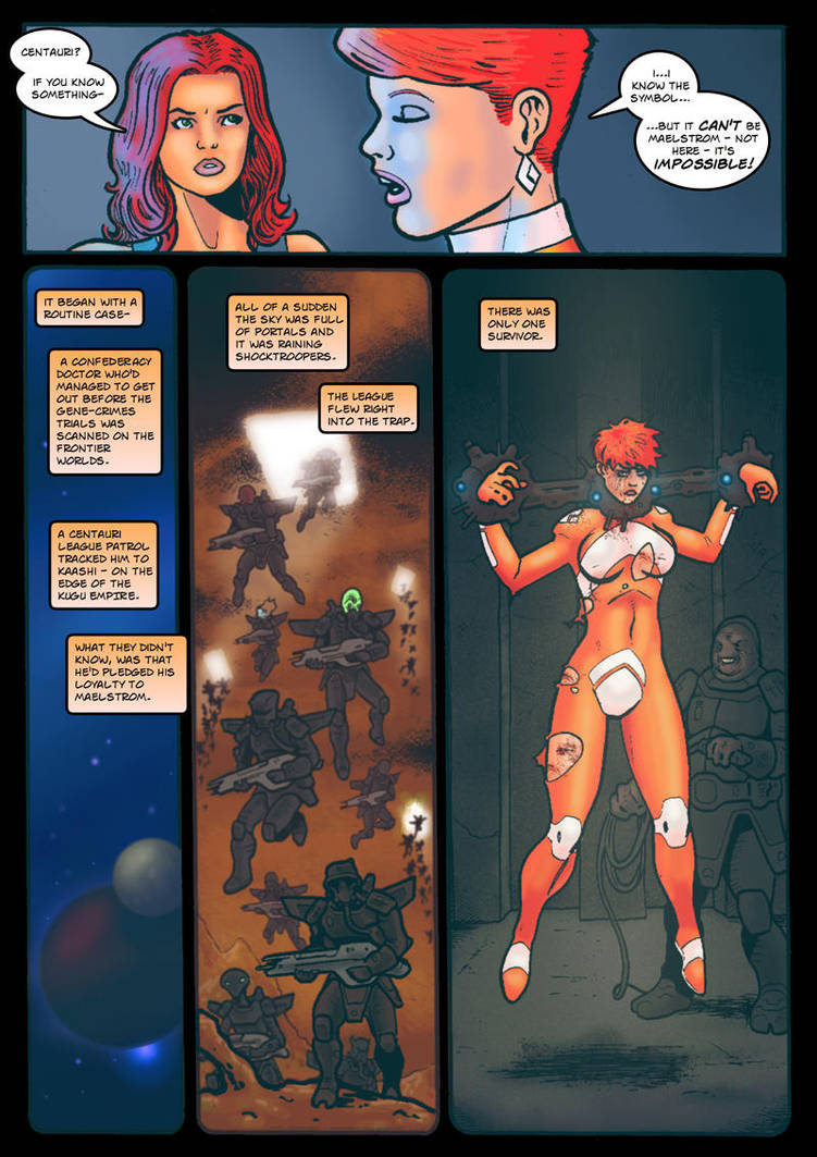 Thunder Force - Templar Trouble page 3 by Kostmeyer