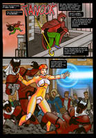Commission: Chaotic Conversation page 1 by Kostmeyer