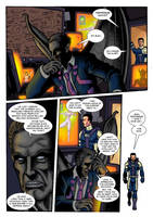 Thunder Force Alpha: Issue 1 pg 5 by Kostmeyer