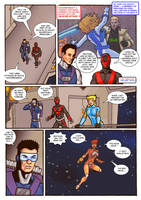 Thunder Force Alpha: Issue 1 pg 7 by Kostmeyer