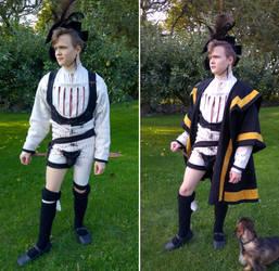 16th C. Landsknecht Outfit by Skrumpgoblin