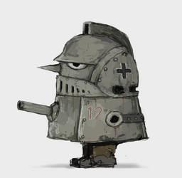 Dieselpunk Tank Boy by Skrumpgoblin