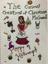 Happy Halloween!! Christine McConnell by atram95