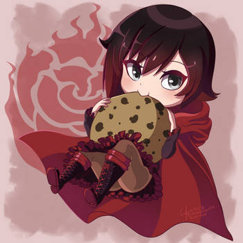 Little Red Ruby Rose by Tanza-Night