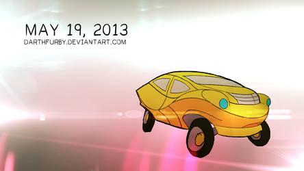 Mustard Car by darthfurby