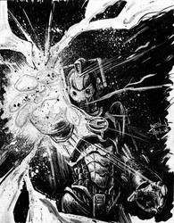 Doctor a Day: Cyberman by justinprokowich