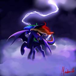 Rainbow Bat by Miokomata