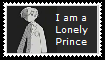 Lonely Prince Stamp by maniacthelunatic