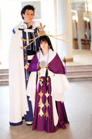 Kurogane and Tomoyo - Tsubasa cosplay 1 by Megraam