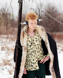 Fairy Tail Laxus Dreyar cosplay - Snow by Megraam