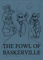 Fowl of Baskerville by TopHatTurtle