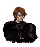 Vader: Maskless by InkStar147