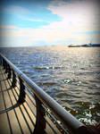 across the deep blue sea. by happykimchi