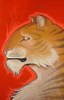 big kitty tiger by missmonster