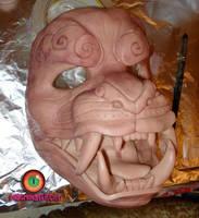WIP foo dog mask by missmonster