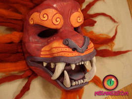 Foo dog mask by missmonster