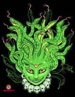 Medusa shirt by missmonster
