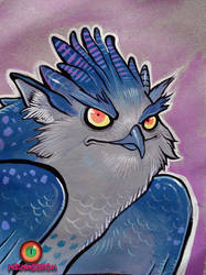 eagle goblin by missmonster