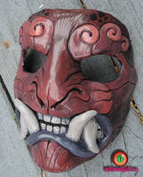 Purple plum mask by missmonster