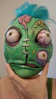 Shantz ghoul mask PAINTED by missmonster