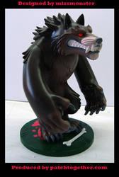 Werewolf toy side by missmonster