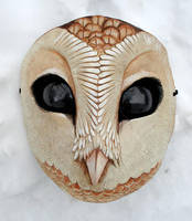 Owl mask complete by missmonster
