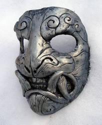 Mask in snow by missmonster