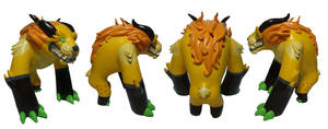 Second Edition Foo Dog toy by missmonster