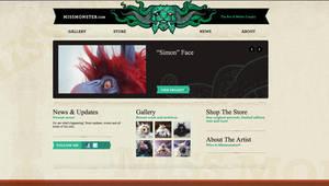 New website by missmonster