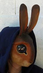 Rabbit mask 2 by missmonster