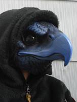 Tengu bird mask by missmonster